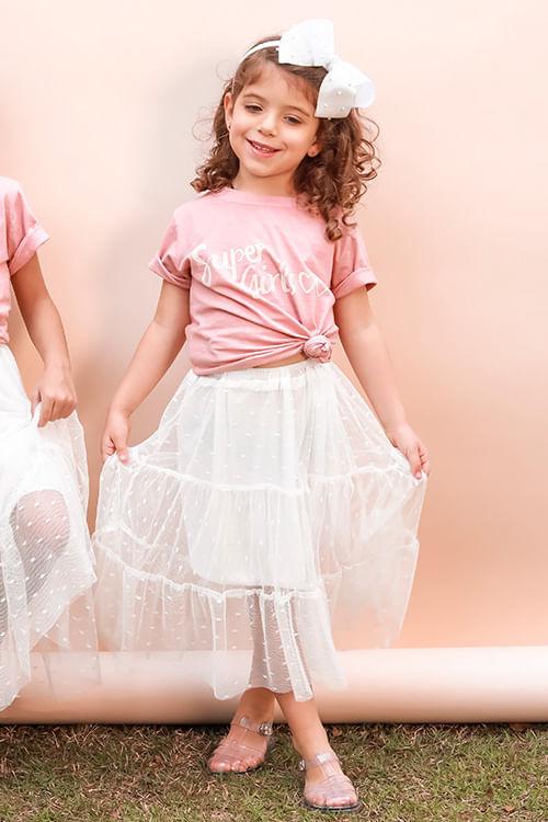 T-shirt-Infantil-Milli-Ref-5613